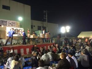 青年部主催 毎年大盛況のビール祭り