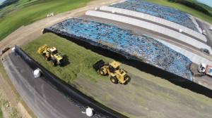 2番サイレージ収穫作業