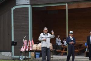 副会長の乾杯の音頭でスタート!!