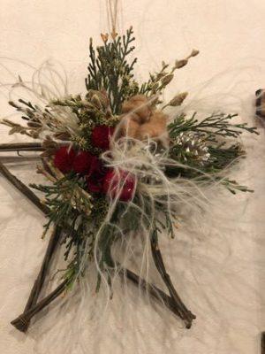 女性部豊富支部三部交流会「クリスマス飾り」